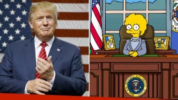 Los Simpson predijeron el triunfo de Donald Trump ¡hace 16 años!