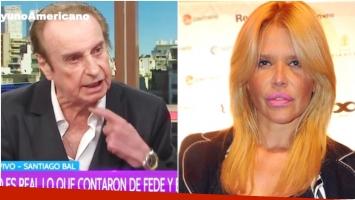La reacción de Nazarena Vélez tras las fuertes declaraciones de Santiago Bal (Fotos: Captura y Web)