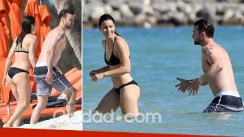 Justin Timberlake y Jessica Biel, cuerpazos al sol en el Mar Caribe. (Foto: Grosby Group)