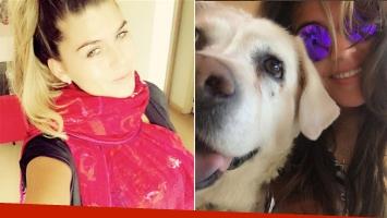 Murió Paca, la perra que Loly y Rial compartían.