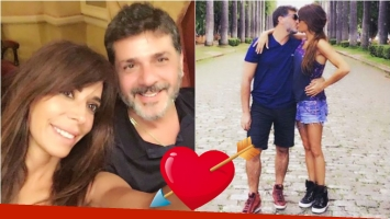 ¡Bienvenido amor! Laura Fidalgo se mostró feliz y a los besos con su novio corredor de autos. Foto: Instagram