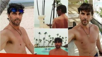 Las fotos de Juan Darthés luciendo su lomazo en las playas de Punta Cana. Foto: Instagram