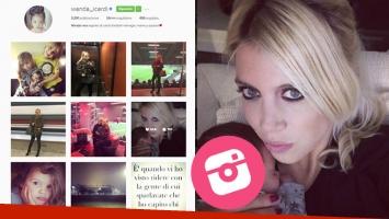 ¡Se hartó! Mirá qué hizo Wanda Nara en Instagram.
