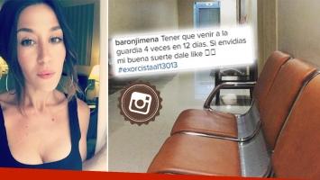 Jimena Barón habló de su salud, tras cuatro visitas a la guardia médica en 12 días. (Foto: Instagram)