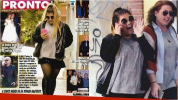 Las fotos de Morena Rial, feliz paseando por Palermo tras perder 25 kilos. Foto: Revista Pronto