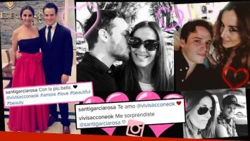Las fotos de la intimidad de Viviana Saccone y Santiago García Rosa, un romance a prueba de prejuicios. (Foto: Instagram)
