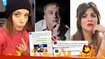 Furiosa acusación de la exmujer del Polaco contra Gianinna Maradona. (Foto: Web)