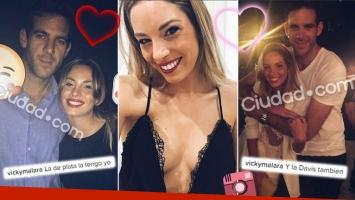 ¡Grande, campeón! Juan Martín del Potro, ¿enamorado de una sensual rubia? (Foto: Instagram)