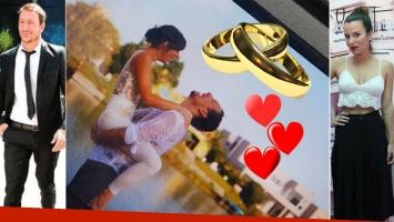 Nico Vázquez y Gimena Accardi se casaron por Civil en su casa de Nordelta. ¡Y tras el