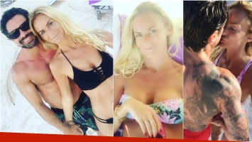 ¡Un incendio! Luciano Castro y Sabrina Rojas, el matrimonio más sexy de la TV: sus lomazos bajo el sol de Punta Cana. Foto: Instagram