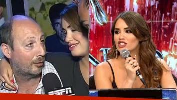 Carlos Espósito salió a bancar a su hija tras su debut en el jurado del Bailando. (Fotos: captura TV e Ideas del Sur)