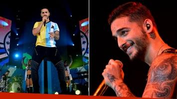 Las fotos del arrasador show de Maluma en Buenos Aires.
