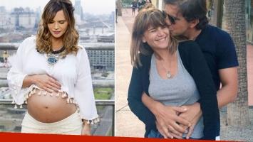 Amalia Granata tenía fecha de parto para el 24 de diciembre, pero Roque se adelantó diez días. (Fotos: archivo Web)