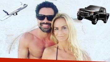 El desopilante motivo por el que Sabrina Rojas y Luciano Castro viajan separados a sus vacaciones.