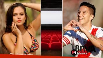 Barbie Vélez y Sebastián Driussi coincidieron en un cine la semana pasada. (Fotos: archivo Ciudad.com y Web)