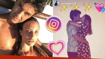 Mariano Martínez y una romántica postal con Camila Cavallo