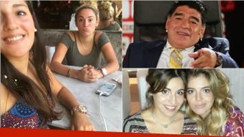 Rocío Oliva con Jana Maradona, cómplices en Buenos Aires: