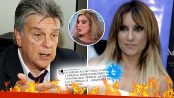La furia de Luis Ventura con Marcela Tauro por apoyar públicamente a Beatriz Salomón. (Foto: Web)