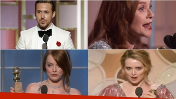 Descubrí a los ganadores de los Premios Golden Globe 2017. Foto: Twitter