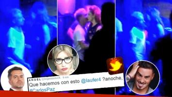 De Brito mostró fotos de Fede Bal muy cerca de una mujer en Carlos Paz y pinchó a Laurita. (Foto: Twitter)
