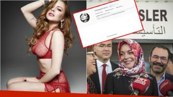 Lindsay Lohan borró todas sus fotos en Instagram y ¿se convirtió al Islam? Foto: Web