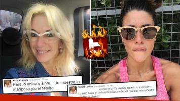 Yanina Latorre, sin (ningún) filtro contra Ivana Nadal. (Foto: Web)
