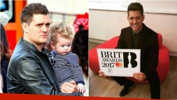 Michael Bublé renunció a la conducción de los Brit Awards. Foto: Web