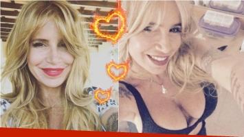 ¡Un incendio! La selfie infartante de Florencia Peña: