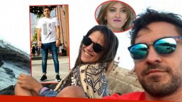 Barbie Vélez y Tato Pernía volvieron a verse tras el escándalo entre la actriz y su ¿ex? amiga Cande Ruggeri. (Fotos: Twitter, Instagram, Facebook y Web)