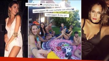 Sobran las palabras: el festejo de cumple de Cande Ruggeri con amigos… y la gran ausencia de Barbie Vélez. (Foto: Instagram)