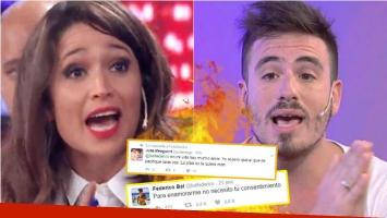 Escandaloso cruce entre Julia Mengolini con Fede Bal... ¡por un tweet dedicado a Laurita Fernández!: