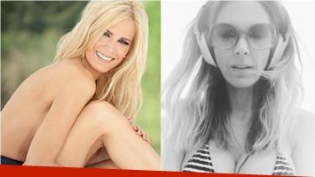 ¡Un fuego! Viviana Canosa hizo arder Instagram con una selfie hot en bikini.