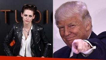 Kristen Stewart denunció que Trump estaba
