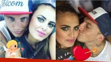 ¡Que viva el amor! La primera foto de El Polaco y Silvina Luna, juntos y enamorados en Instagram