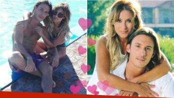 ¡Enamorados! La tarde de amor y sol de Marcela Tauro y su novio Martín Bisio: