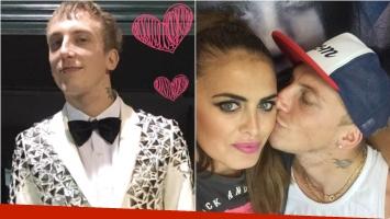 El Polaco, a full con su romance con Silvina Luna: