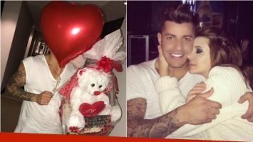 Charlotte Caniggia se reconcilió con Loan... ¡y él la sorprendió con un oso, globos y chocolates! Foto: Instagram