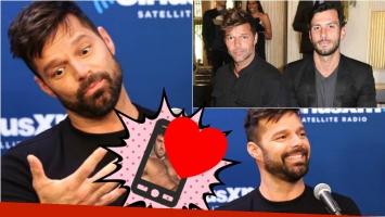 Ricky Martin contó que conoció a su novio... ¡por Instagram! Foto: Web/ Captura