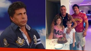 Conmovedores mensajes del ex de Fort en el día del cumpleaños de sus hijos