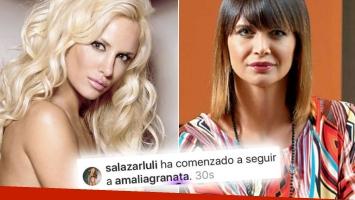 Picantísimo cruce en vivo entre Luli Salazar y Granata, tras el stalkeo de la modelo a la panelista: su singular explicación del espionaje. (Foto: Web)