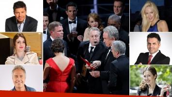 ¡A twittear! La reacción de los famosos argentinos ante el histórico papelón de los Oscar 2017. (Foto: AFP y Web)