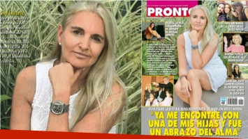 Silvia D'Auro, a corazón abierto sobre la terapia con la que consiguió acercarse a una de sus hijas. Foto: Revista Pronto
