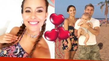 El romántico saludo del Chato Prada a Lourdes Sánchez por su cumpleaños. Foto: Web