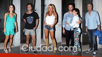 Flor Peña y una divertida fiesta con famosos en su casona de Palermo. (Fotos: Movilpress)