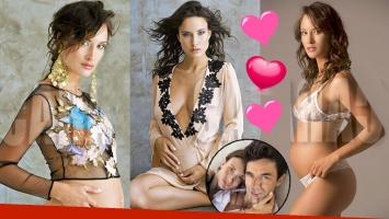 ¡Embarazada sexy! Camila Cavallo, producción sexy con pancita de cinco meses. (Foto: revista Caras)