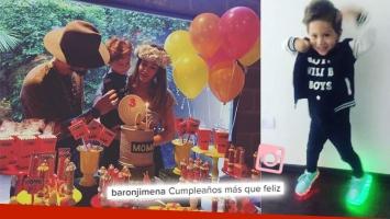"""¡Juntos por amor! Jimena Barón y Daniel Osvaldo, reunidos en el cumpleaños de su hijo, Morrison: """"Más que feliz"""""""