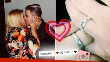 ¡Felicidades! Morena Rial se comprometió con su novio, a cuatro meses de comenzar el romance: