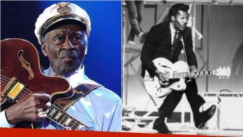 Murió Chuck Berry, el