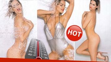 ¡Qué jugada! El desnudo total de Chipi Anchipi en la tapa de Caras. (Foto: revista Caras)