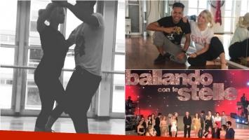 Wanda Nara se suma al Bailando italiano: ¡mirá los videos de sus ensayos!